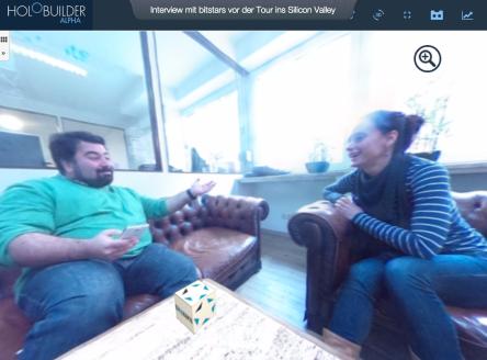 Interview mit Mostafa Akbari, CEO von bitstars vor der Reise ins Silican Valley über den German Accelerator