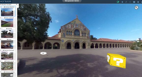 kleiner 360° Rundgang über Stanford in neun Slides