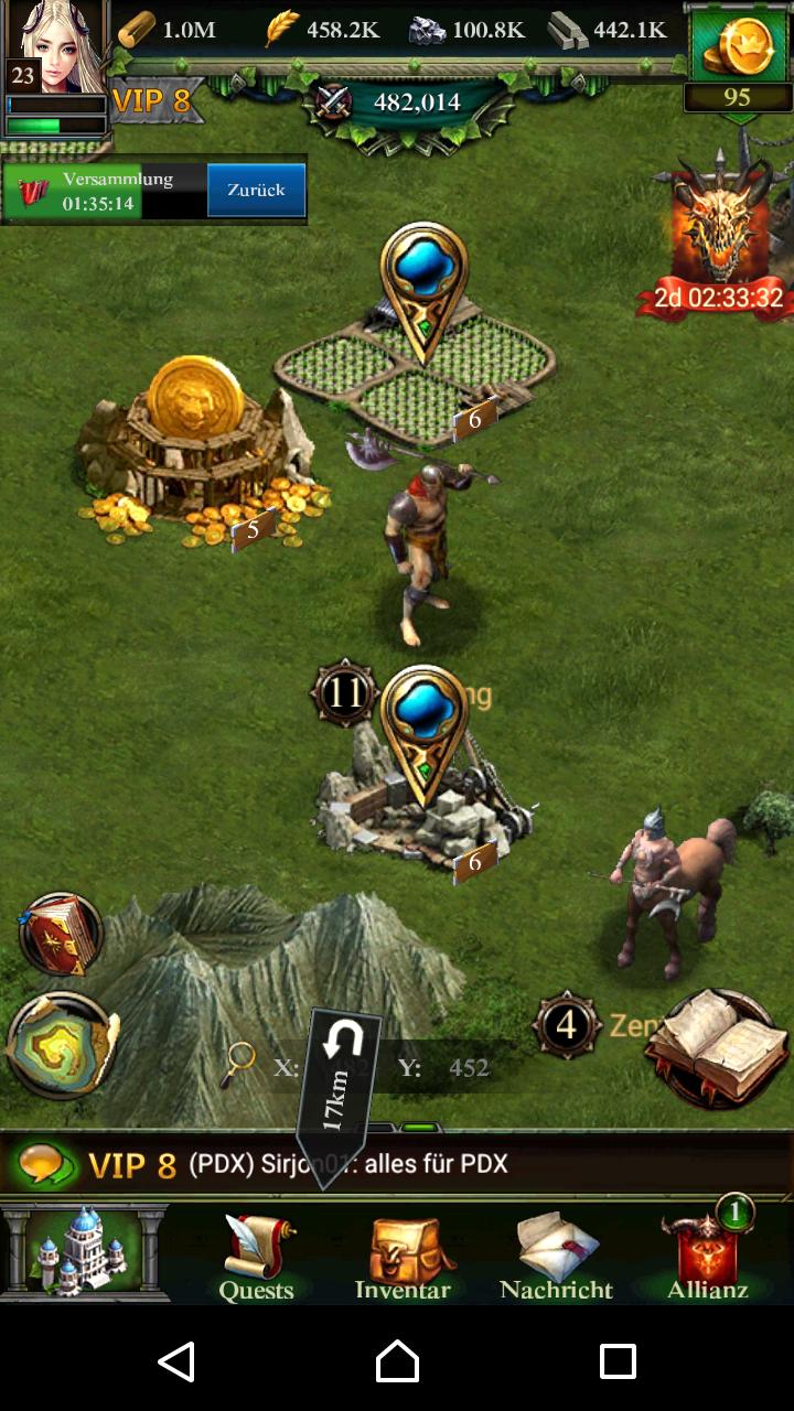 clash of kings monster besiegen