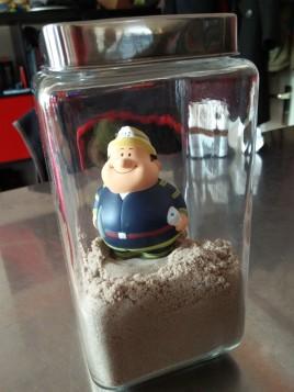 Was packe ich in meinen Koffer zur CeBIT? kinetischen Sand!