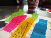Vorbereitungen von Terminen und Talks auf der CeBIT: Terminplanung