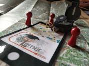 ich nehme zur CeBIT mit: ... Spielfiguren, Kompass, Stadtkarte ...