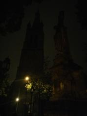 2. Bild: herbstdunkler Morgen in Aachen auf dem täglichen Pendelweg zur Arbeit