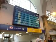 9. Bild: Puh, mein Zug fährt pünktlich!