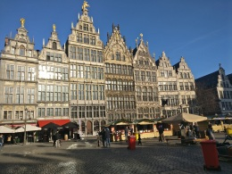 Antwerpen in 360°: day and night