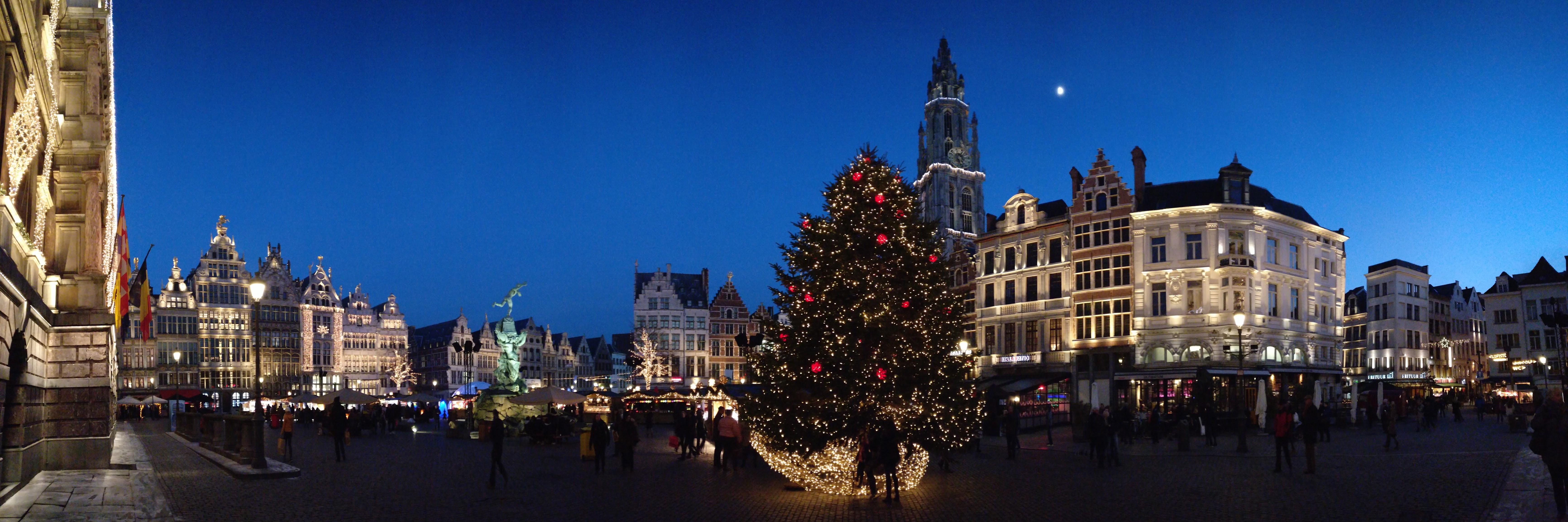 Antwerpen: market place