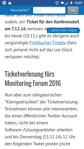 (Screenshot vom Smartphone (Jan. 2017), Quelle: http://www.monitoringmatcher.de)