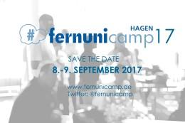 Save the Date: FernUniCamp-08./09.September 2017