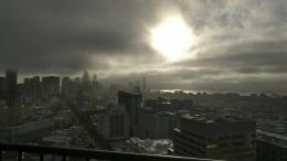 San Francisco: Eine Perspektive, verschiedeneTageszeiten